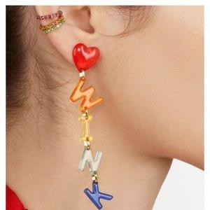 🌈WINK drop earrings 🌈